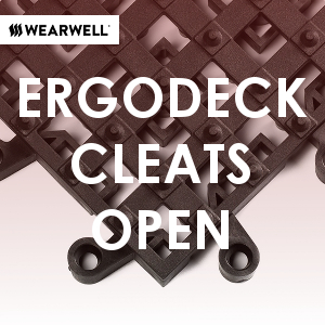 Cleartex ErgoDeck Cleats Open