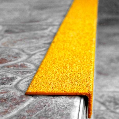 ClearSafe Grit lépcső élvédő lapok