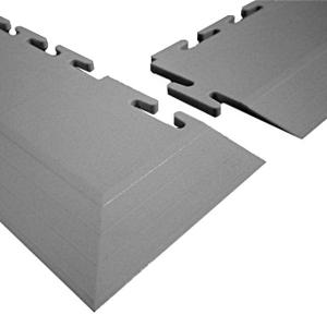 ClearSafe sarok rámpa elem 10 mm moduláris PVC burkolathoz