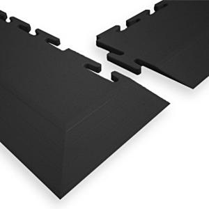 ClearSafe sarok rámpa elem 7 mm moduláris PVC burkolathoz